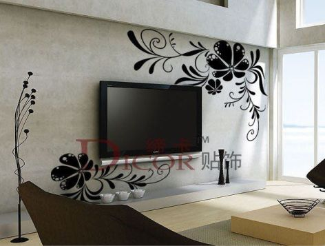 Adorable tv wall decor ideas 42