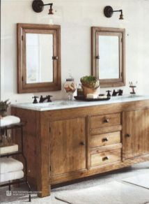 Amazing country bathrooms ideas you can imitate 09