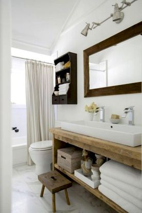 Amazing country bathrooms ideas you can imitate 21