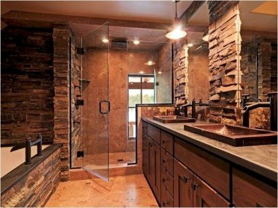 Amazing country bathrooms ideas you can imitate 35