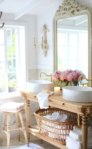 Amazing country bathrooms ideas you can imitate 47