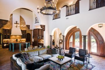 Attractive traditional living room designs ideas in italian 07