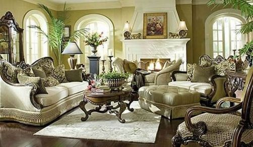 Attractive traditional living room designs ideas in italian 12