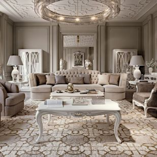 Attractive traditional living room designs ideas in italian 24