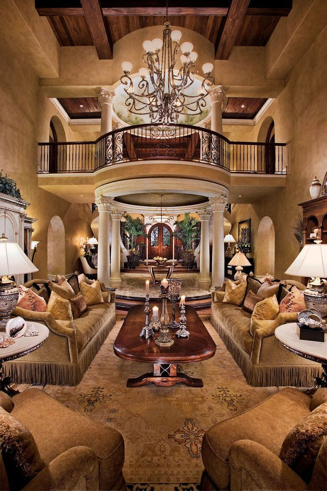 Attractive traditional living room designs ideas in italian 38