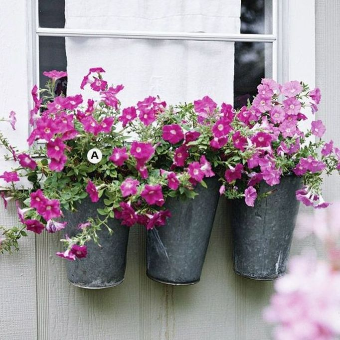 Attractive window box planter ideas to beautify up your home 10