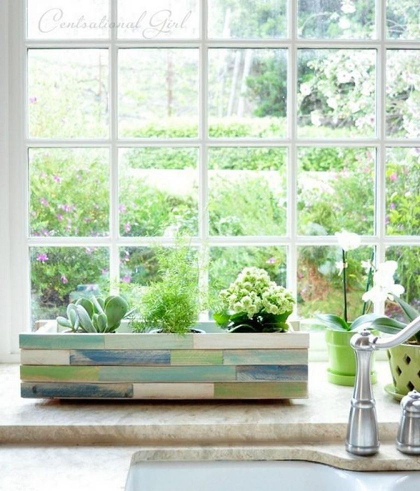 Attractive window box planter ideas to beautify up your home 25
