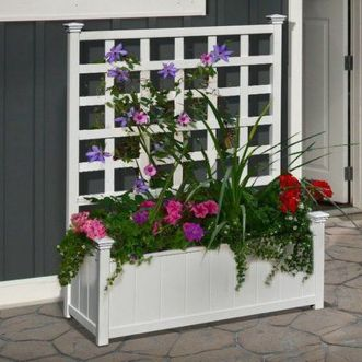 Attractive window box planter ideas to beautify up your home 30