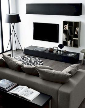 Awesome contemporary living room decor ideas 42