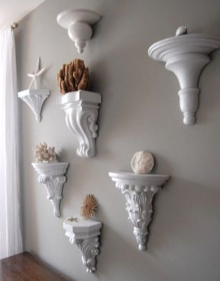 Best ideas for decorating room to be more interesting with corbels 04