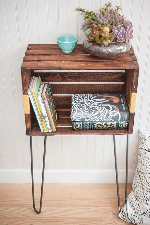 Brilliant furniture design ideas with wood pallets 09