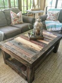 Brilliant furniture design ideas with wood pallets 24