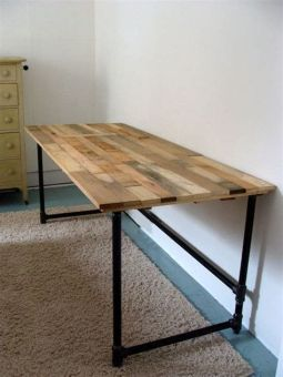 Brilliant furniture design ideas with wood pallets 27