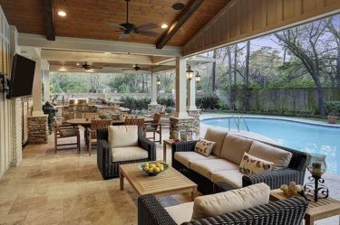 Charming living room design ideas for outdoor 10