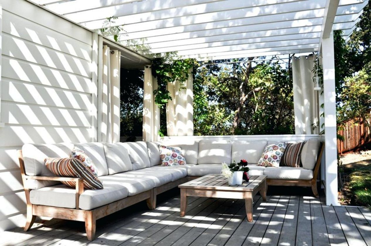 Charming living room design ideas for outdoor 17