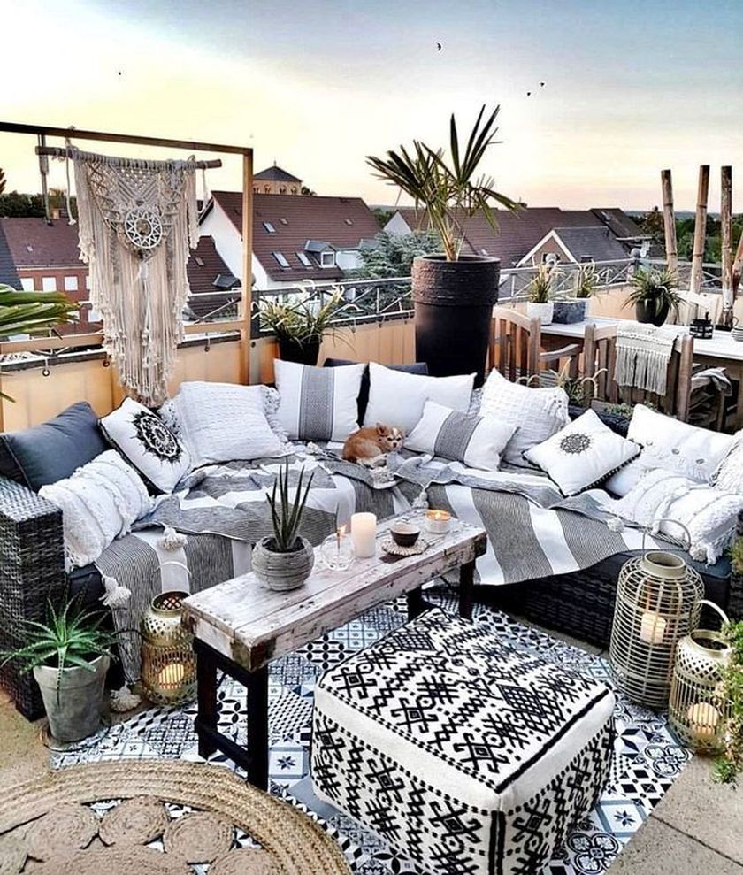 Charming living room design ideas for outdoor 22