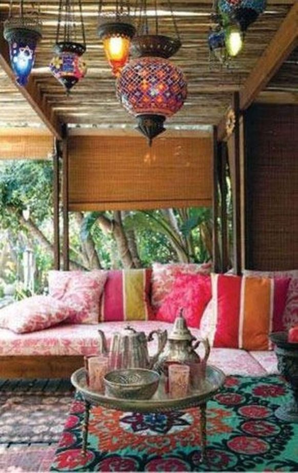 Charming living room design ideas for outdoor 27
