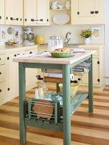 Elegant kitchen desk organizer ideas to look neat 02