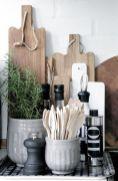 Elegant kitchen desk organizer ideas to look neat 15