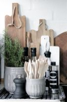 Elegant kitchen desk organizer ideas to look neat 15