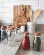 Elegant kitchen desk organizer ideas to look neat 17