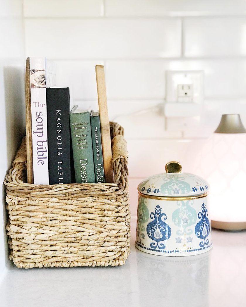 Elegant kitchen desk organizer ideas to look neat 23