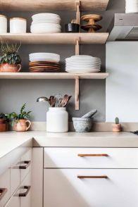 Elegant kitchen desk organizer ideas to look neat 43