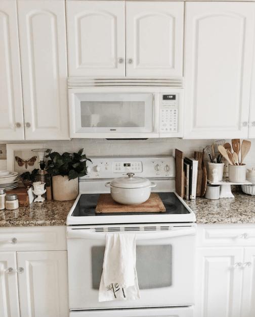 Elegant kitchen desk organizer ideas to look neat 50