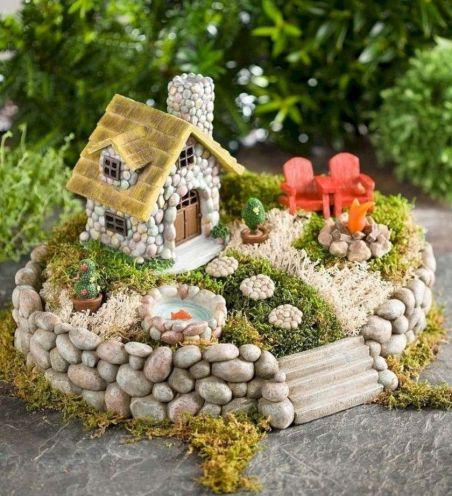 Impressive mini garden mug ideas to add beauty on your home 14