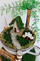 Impressive mini garden mug ideas to add beauty on your home 17