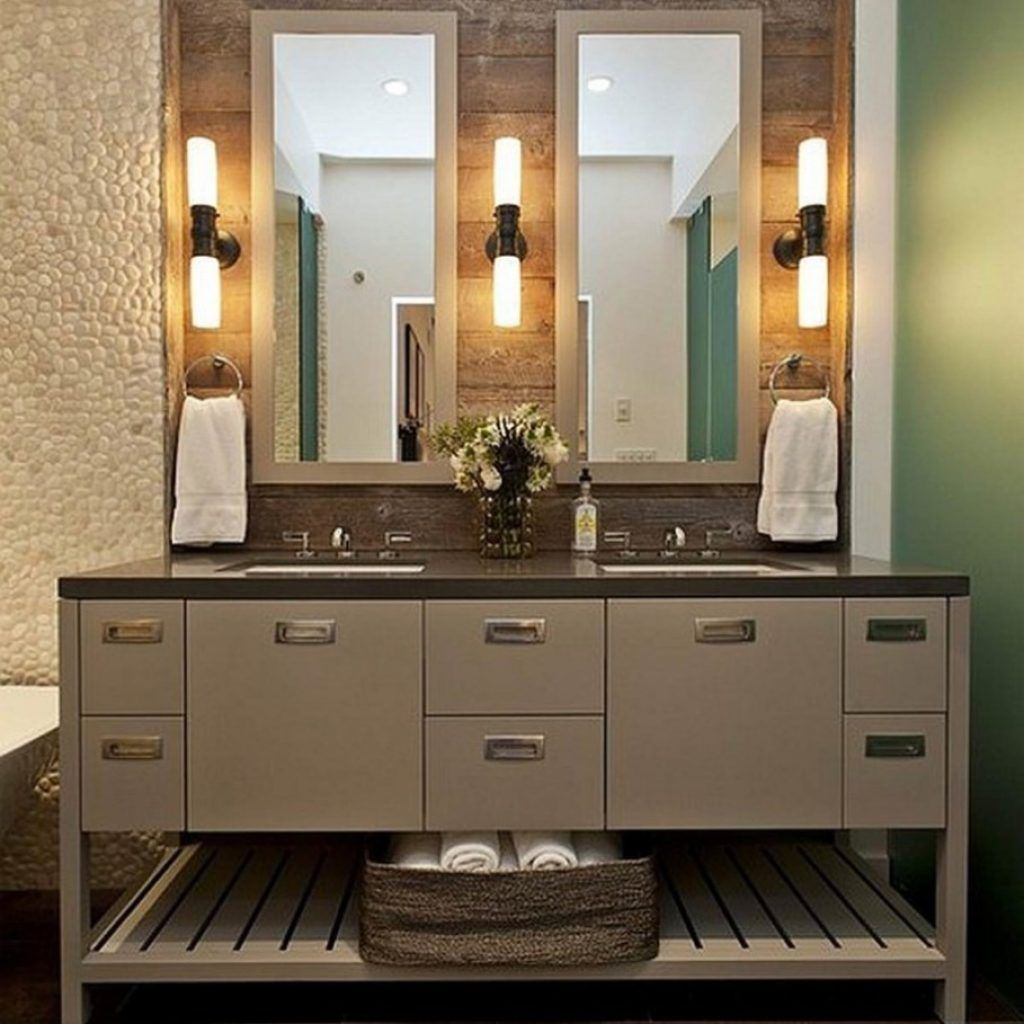 Magnificient bathroom sink ideas for your bathroom 08