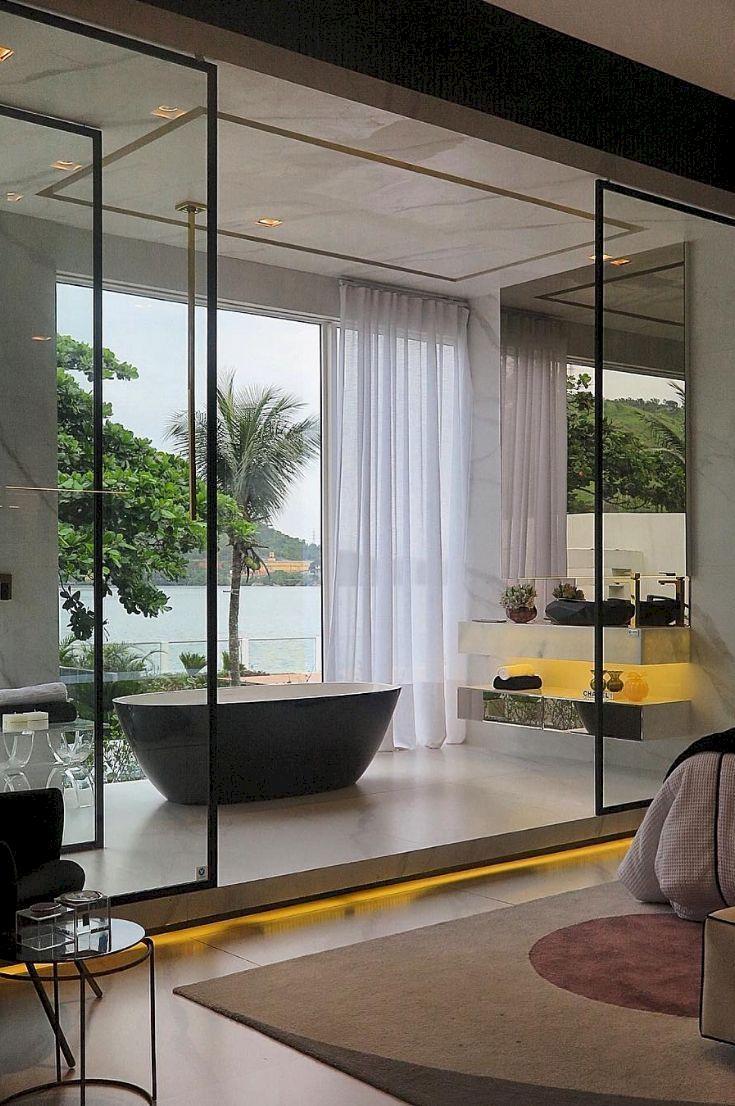 Stunning wet room design ideas 23