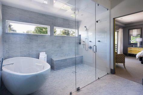 Stunning wet room design ideas 26