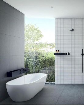 Stunning wet room design ideas 46