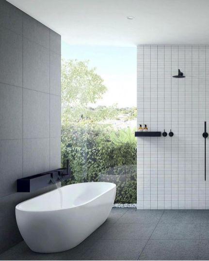 Stunning wet room design ideas 46