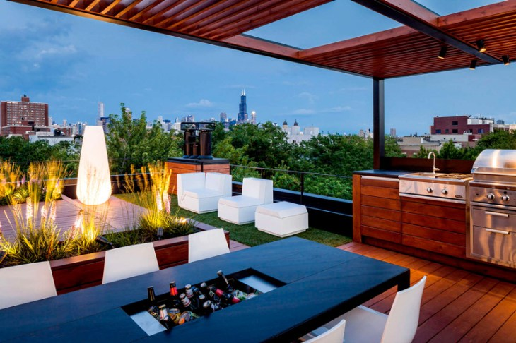 Amazing Rooftop Design With Urban View That Will Make Us Swoon 5