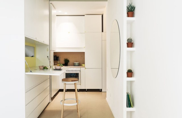 An Impressive Micro-ApartmentWith Transforming Wall That Truly Sophisticated 6