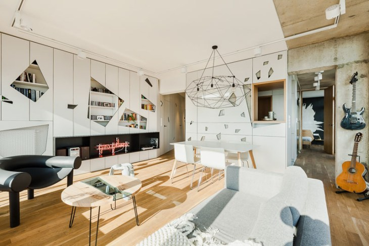 Cool-apartment-interior-design-with-geometric-features-1