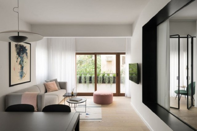 How to style a modern apartment with muted color 1