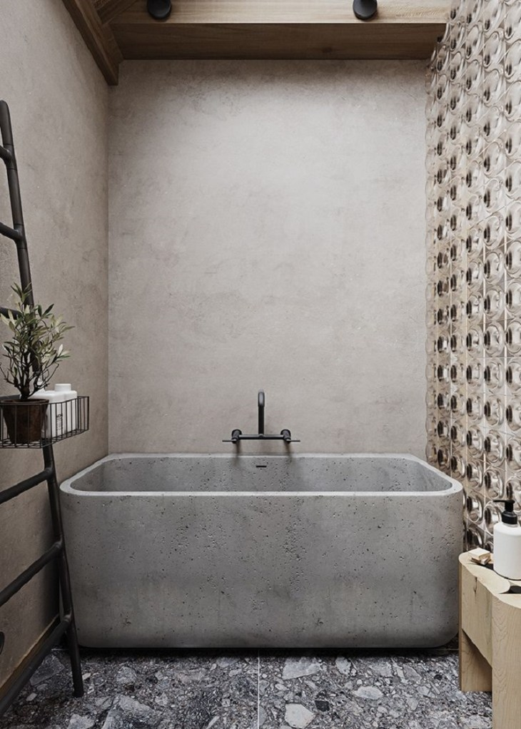 With-beautiful-concrete-bathroom-tub
