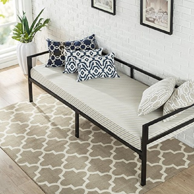 Zinus Quick Lock Twin Daybed Incredible Stylish Daybeds We Can't Stop Dreaming About