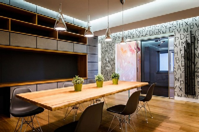 Modern Apartment Design With Monolithic Partition 5