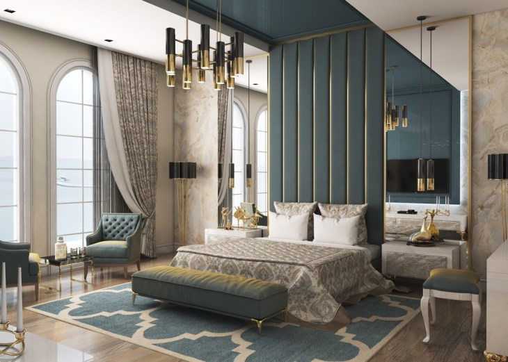 6 Beautiful Transitional Bedrooms Which Bridge Modern And Traditional Style Together