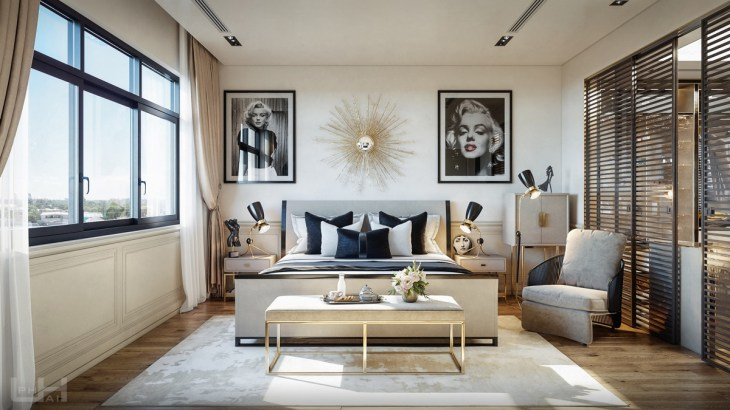7 Beautiful Transitional Bedrooms Which Bridge Modern And Traditional Style Together