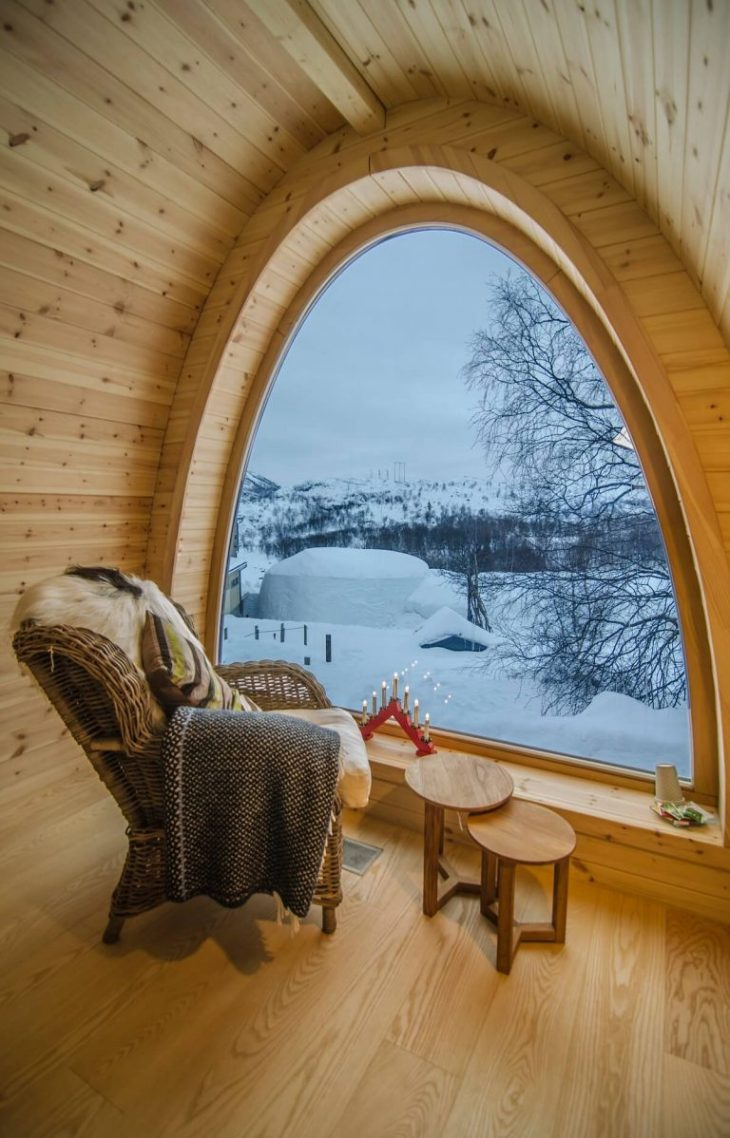 A cozy spot with a winter wonderland view Ideal Reading Nook Ideas Offers You A Cozy Spot For All Winter