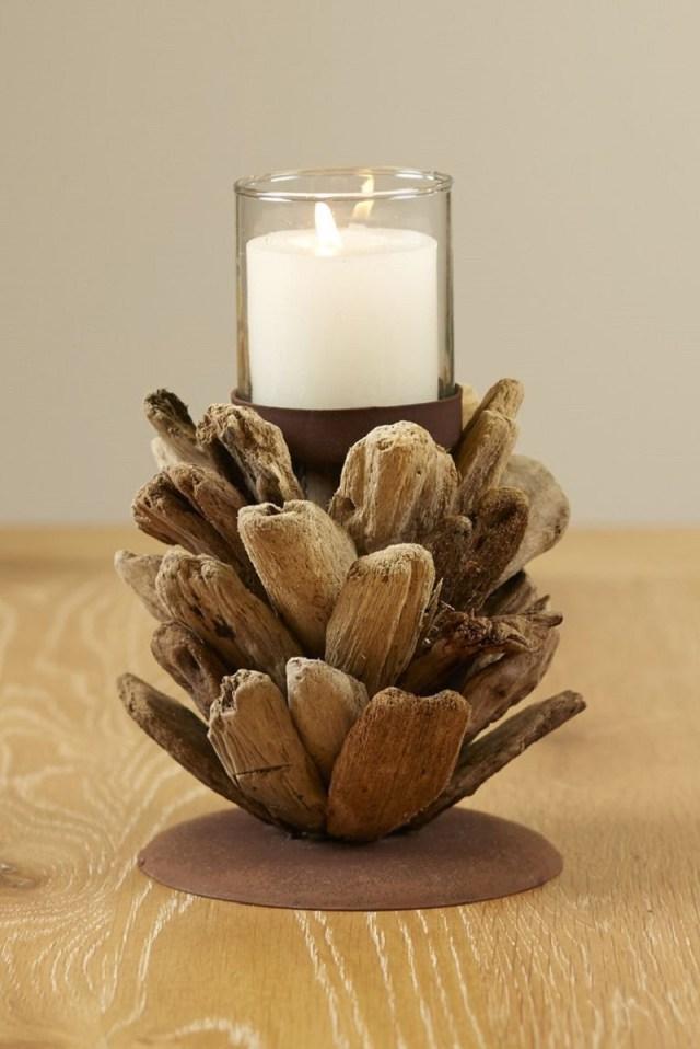 Driftwood-pinecone