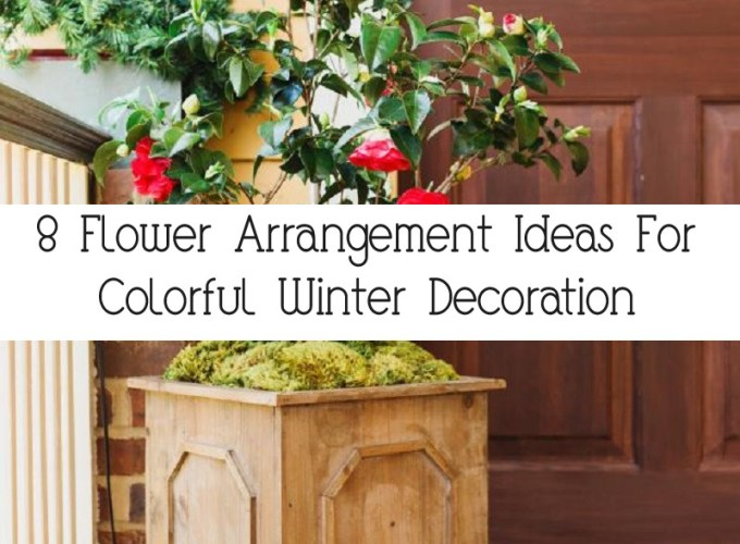 8 Flower Arrangement Ideas For Colorful Winter Decoration