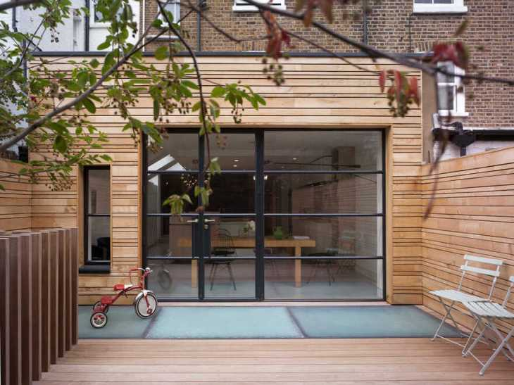 Additional bedroom and living space in this victorian terrace are totally cool 1
