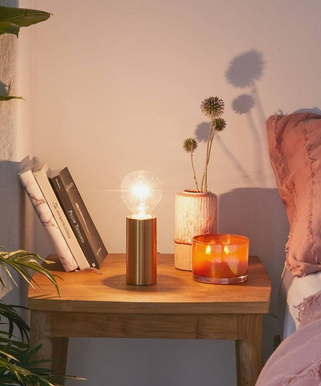 Cylinder metal table lamp Night Study Sessions Lamp Ideas For Your Most Stylish Dorm Room