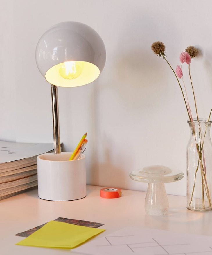 Gumball storage desk lamp Night Study Sessions Lamp Ideas For Your Most Stylish Dorm Room